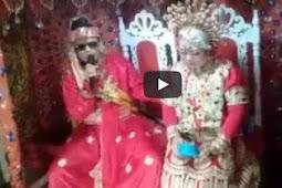 Wow! Pengantin di Bone ini Jadi Viral Lantaran Videonya Tersebar di Facebook
