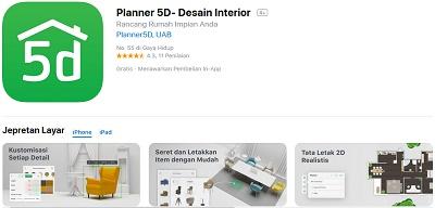 aplikasi menggambar denah rumah iOS