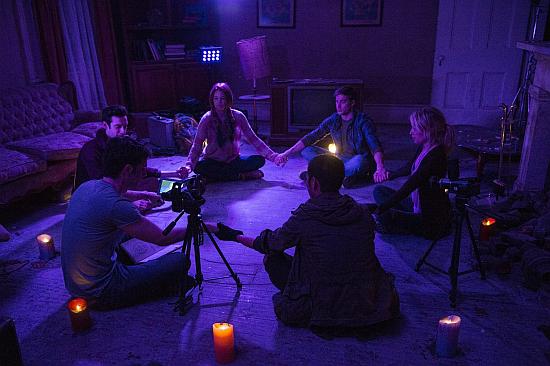 the horror club dvd review demonic 2015. Black Bedroom Furniture Sets. Home Design Ideas