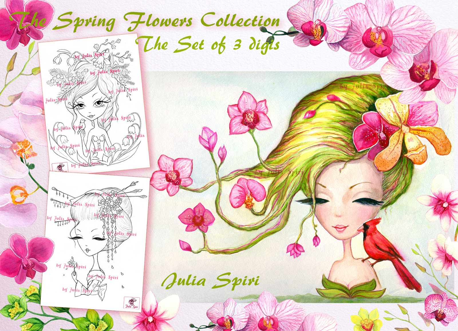 julia spiri challenge blog new release the spring flowers