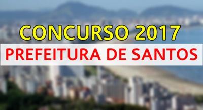 Concurso Prefeitura de Santos 2017