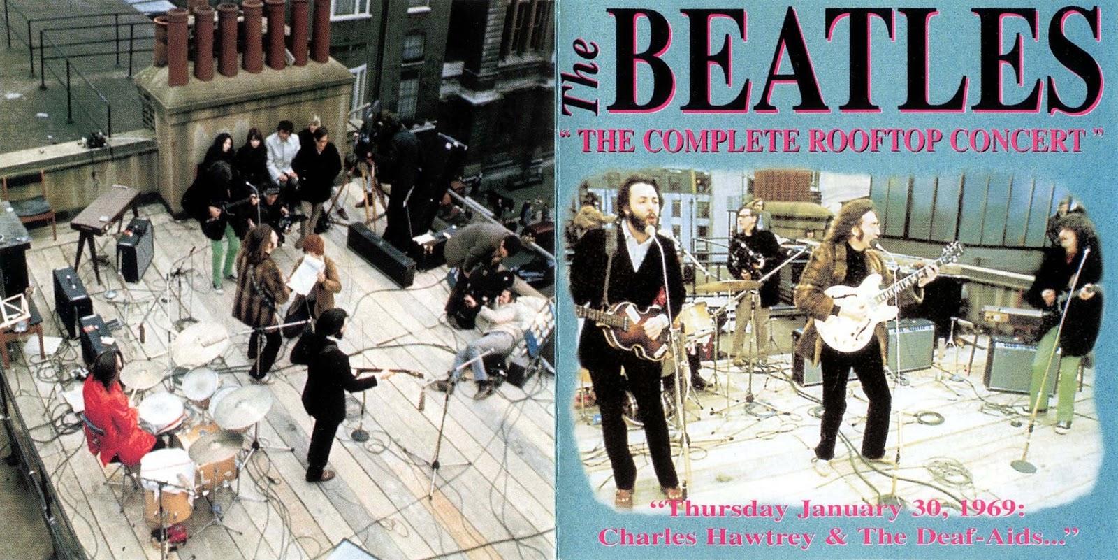 beatles rooftop concert full version video