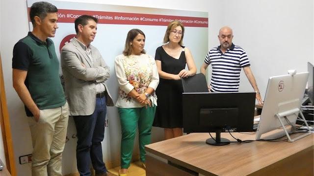 LA JUNTA DE CASTILLA-LA MANCHA SE INTERESA POR EL SERVICIO DE ATENCIÓN CIUDADANA DE ALBACETE
