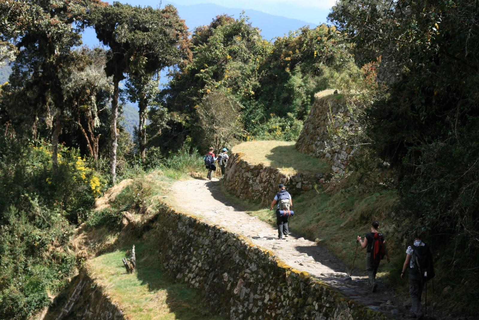 The Inca Trail To Machu Picchu The Qhapaq Nan Or Inca Trail