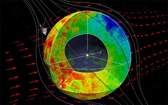 Überraschung: Die Heliosphäre scheint rund zu sein.