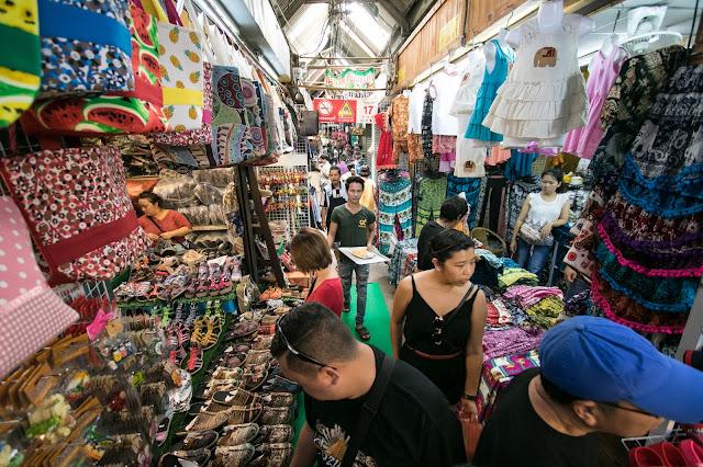 Mercato di Chatuchak-Bangkok