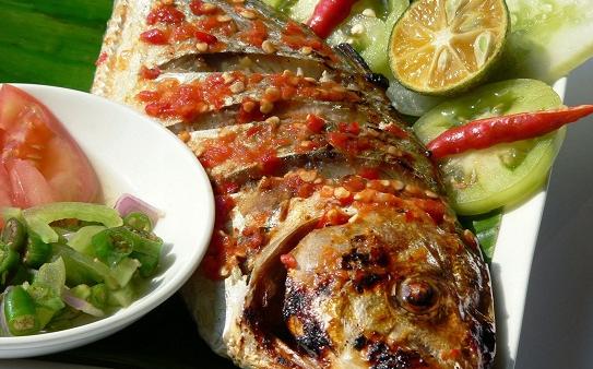 Resep Ikan Bakar Kembung Pedas