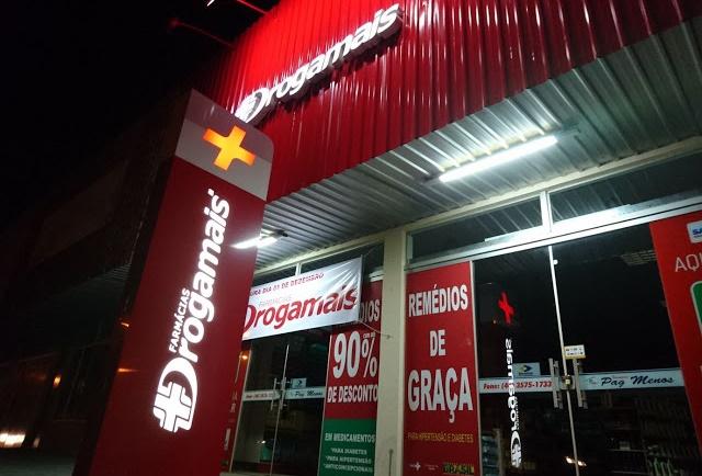 Nesta sexta-feira (1º) tem inauguração da Drogamais em Roncador