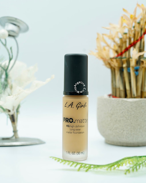 LA GIRL PRO MATTE FOUNDATION (REVIEW)