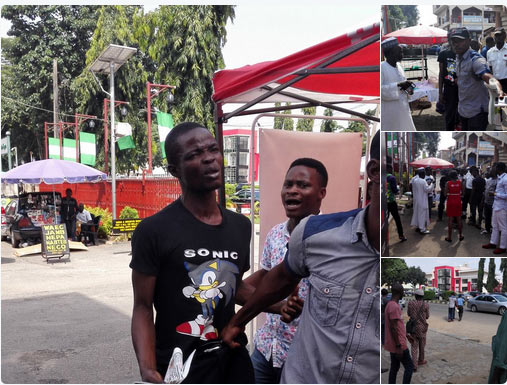 Unemployed man rough-handled after stealing mobile phone in Abuja