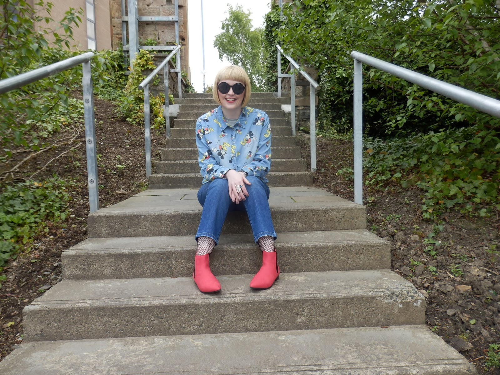 Glasgowfashiongirl - Double Denim
