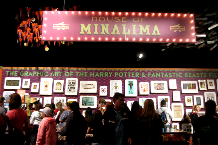 MinaLima A Celebration of Harry Potter event