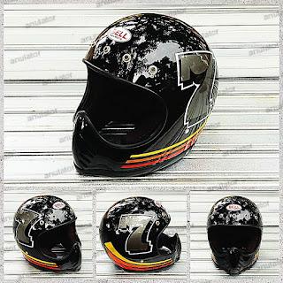 Helm Cakil Rrplika Bell Moto3 Kancing 5