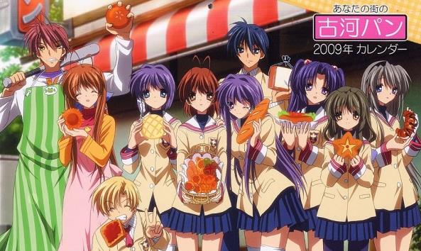 Clannad - Anime Romance Happy Ending