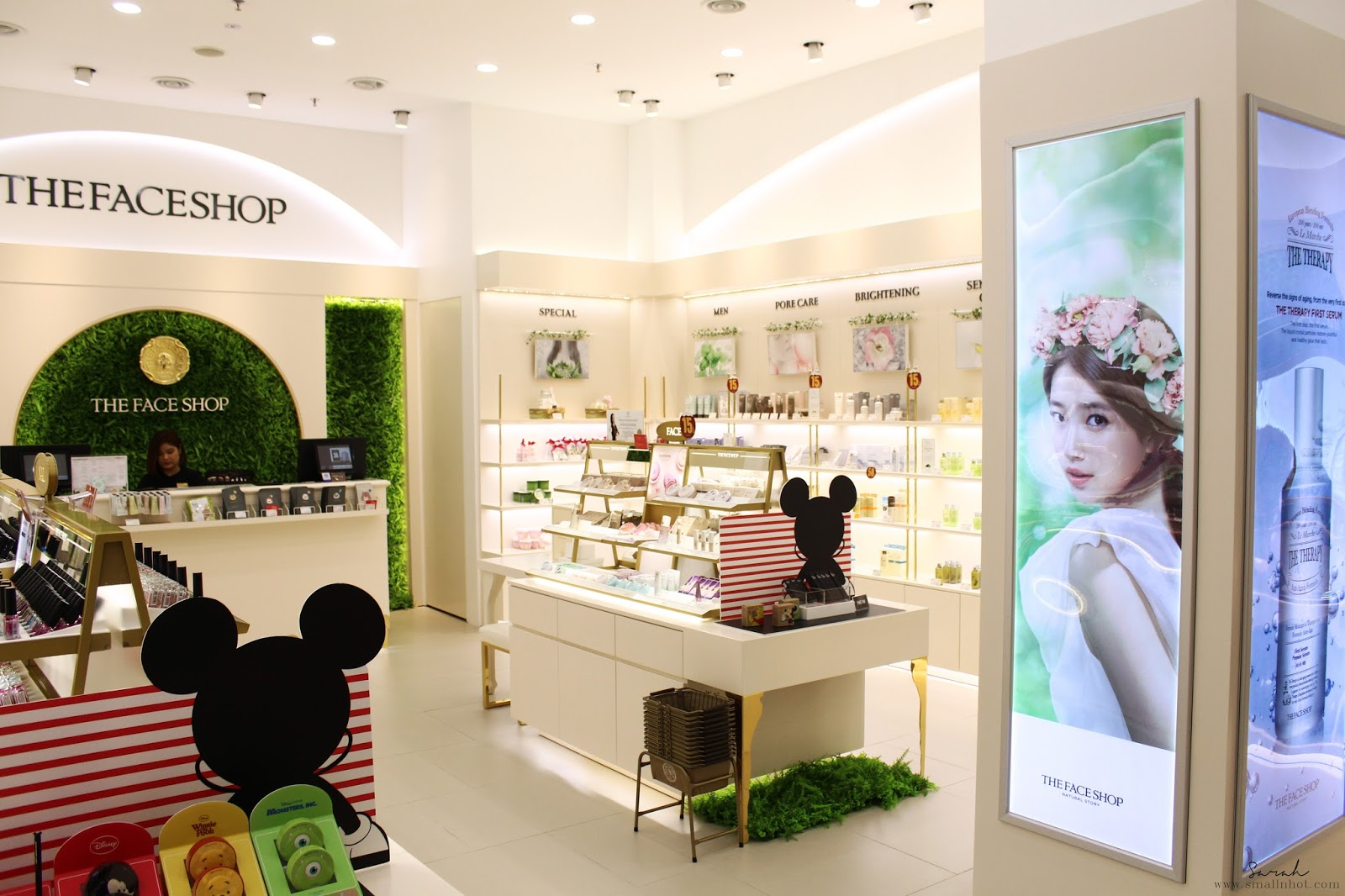 The Face Shop Flagship Store launch; The Face Shop Pavilion KL; The Face Shop Disney Cushion; The Face Shop The Therapy Anti-Aging; Malaysia Beauty Online Magazine; Malaysia Best Beauty Magazine; The Face Shop Pavilion Store review;