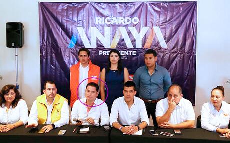 Coordinador de Anaya en Q. Roo, Juan Carlos Pereyra, involucrado en el despojo de valioso terreno a un matrimonio de ancianos