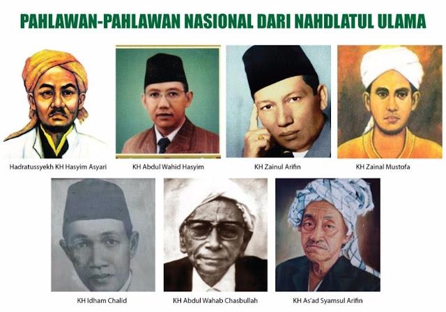 Inilah Tokoh-tokoh NU Bergelar Pahlawan Nasional