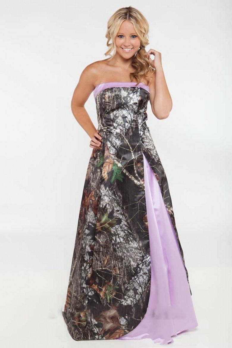 pink camo wedding dresses camouflage wedding dresses