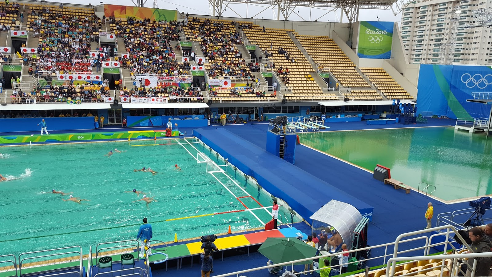 Greetings from beijing a usa water polo blog green for Pool show usa