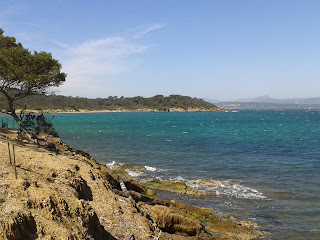 Isles d'hyeres secluded nature south of france islands