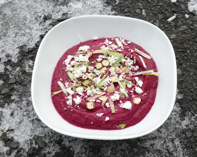 Rote-Bete-Dip mit Joghurt und Za'atar - Rezept von Yotam Ottolenghi