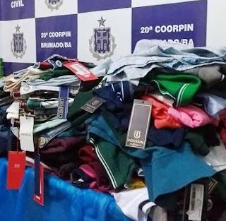 Polícia Civil prende homem e recupera roupas