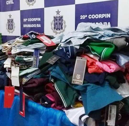 Polícia Civil prende homem e recupera roupas furtadas de loja em Brumado