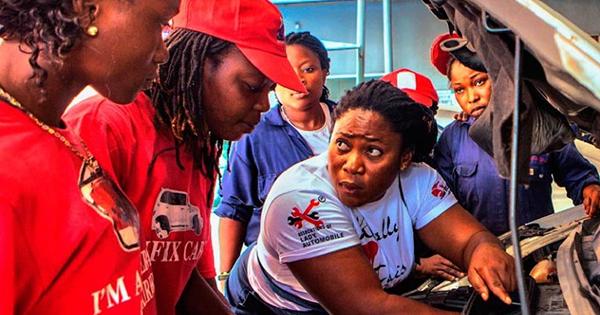 Sandra Aguebor, Nigeria's first woman mechanic