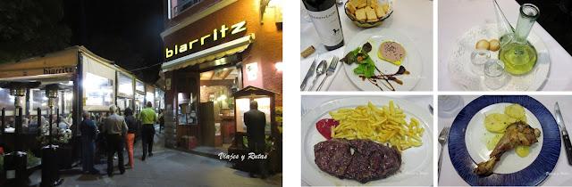 Restaurante Biarritz de Jaca