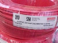 Kabel Metal NYA 1 X 2.5 Mm / Roll Rp. 270.000
