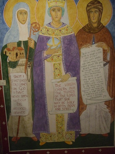РПЦЗ: Новые фрески в Благовещенском скиту в Виктории (Австралия). ФОТО