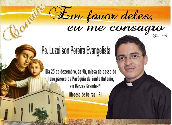 Padre Luzeilson Pereira Evangelista