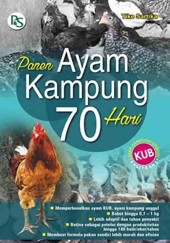 Buku Peternakan : Panen Ayam Kampung 70 Hari