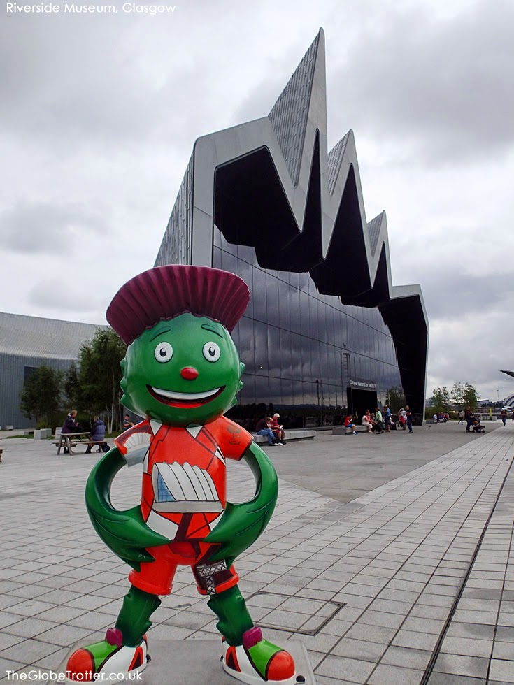 The Riverside Museum (Transport Museum) in Glasgow