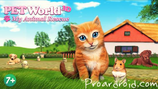 تحميل PetWorld: My Animal Shelter مهكرة وكاملة
