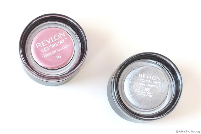 Revlon Mythic Lights. Creating an ethereal makeup look. Revlon ColorStay Creme Eyeshadow 745 Cherry Blossom and 760 Earl Grey.