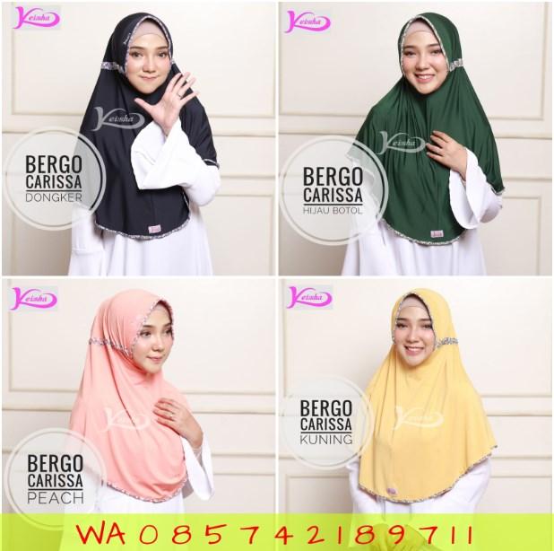Bergo Carissa Trend Hijab 2019 Kerudung yang Lagi Hits Jaman Sekarang