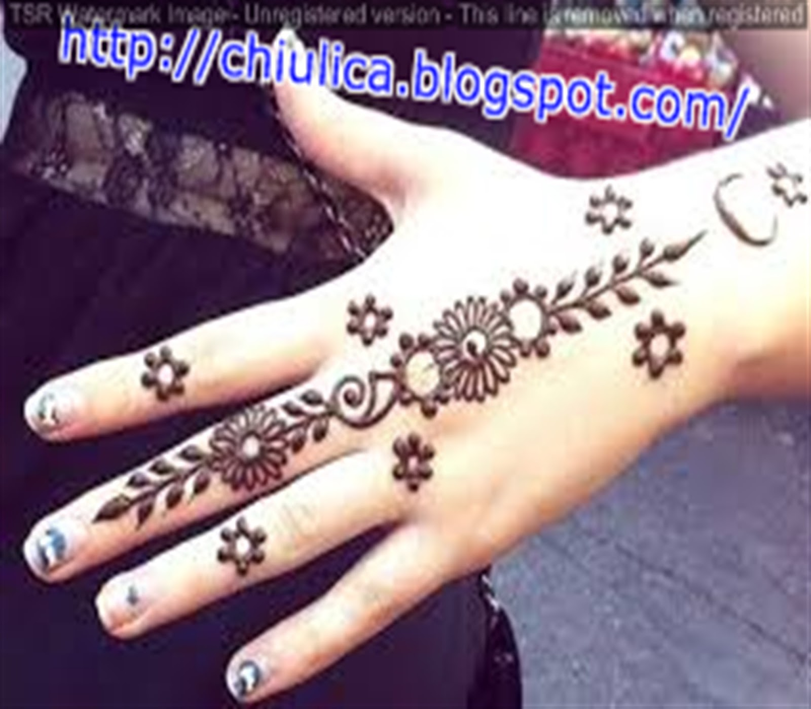 Henna Kupu Kupu Simple Dan Mudah Terbaru 2017 Contoh Henna