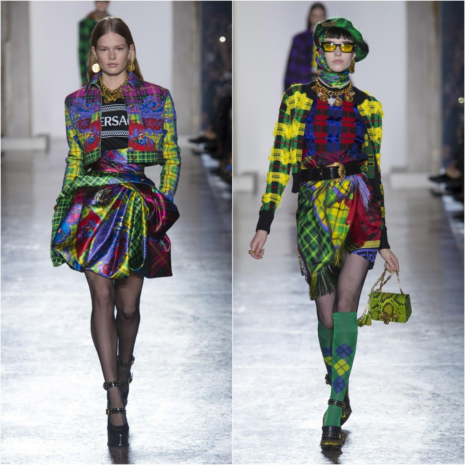 2018: RUNWAY REPORT.....Milan Fashion Week: VERSACE Fall/Winter