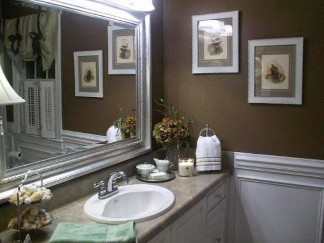 small bathroom wall paint color ideas