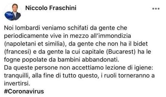 Post di Niccolò Fraschini