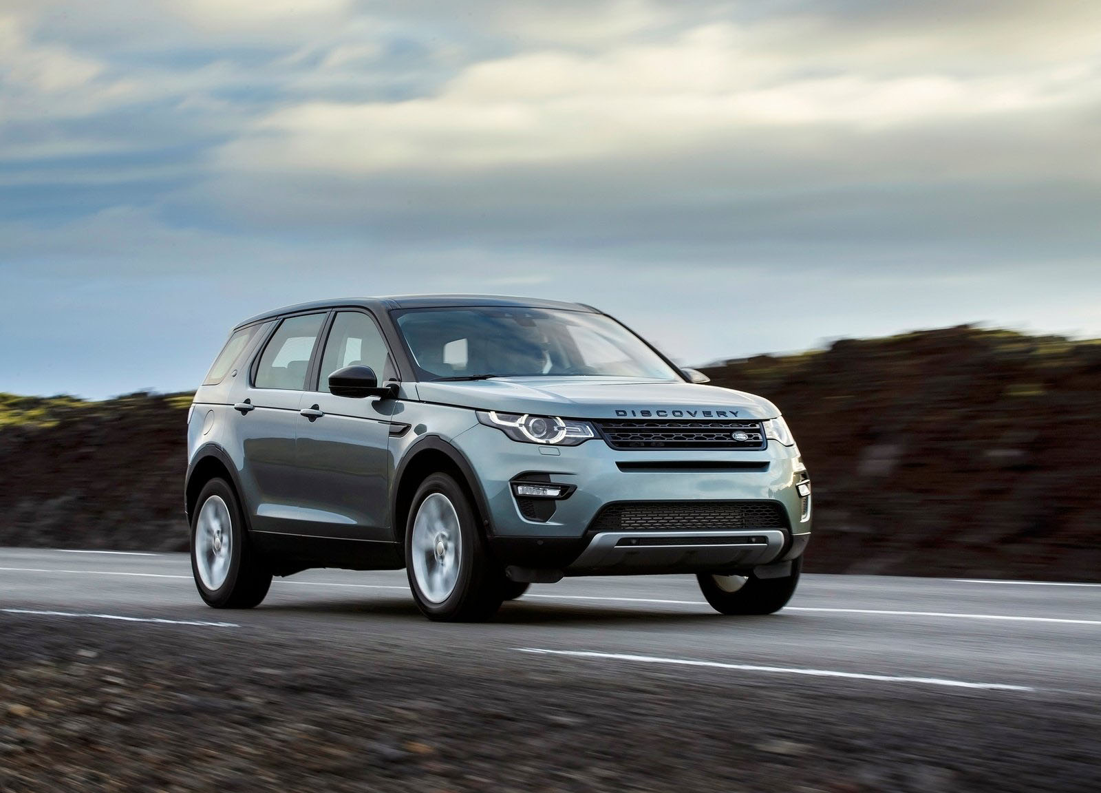 Land Rover Discovery Sport on Range Rover Recall