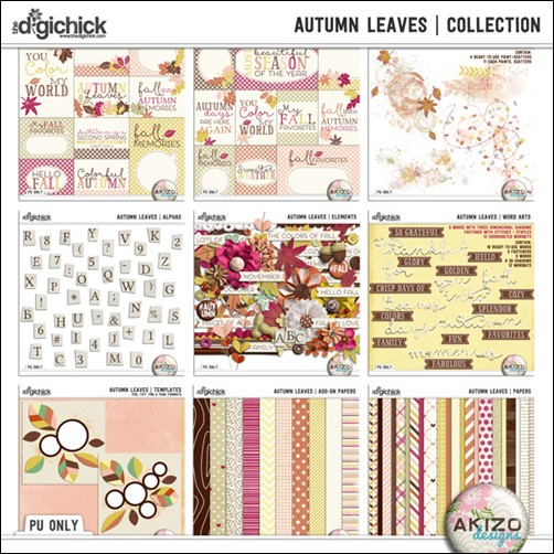 Preview Autumn Leaves Collection