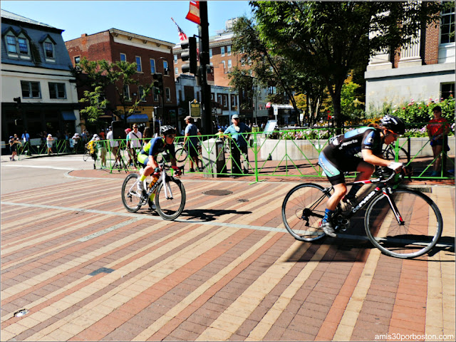 Vuelta Ciclista por Church Street Marketplace, Burlington