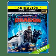 Cómo entrenar a tu dragón 3 (2019) Ultra HD BDREMUX 2160p Latino