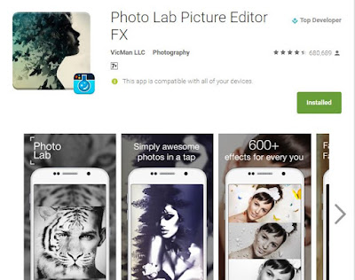 Photo Lab Picture Editor FX بههیزترین بهرنامه بۆ دهستكاری كردنی وینهكانتان +ئیتر پیویستان به فۆتۆشۆب نابیت