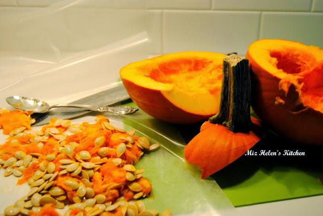 Roasted Southwest Pumpkin Stew at Miz Helen's Country Cottage
