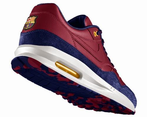 Mente Air Nike 1 Del Zapatillas Max Con Escudo Barcelona El Fc F1cTuJ5lK3
