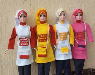BONEKA BARBIE MUSLIM ANNISA ( BONEKA MUSLIM PERTAMA DI INDONESIA ... f76a0f9e2b