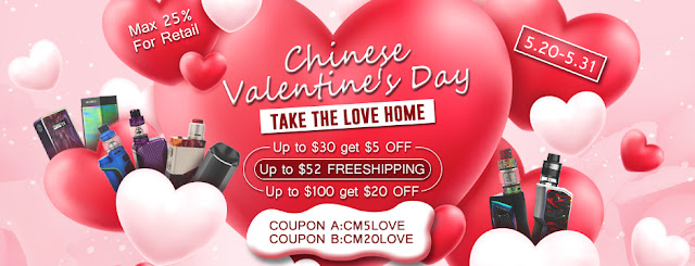 Chinese Valentine's Day Shopping at Aspire Authorized Online Store